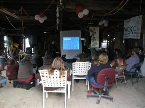Rafter Sass Presents in the Barn Classroom