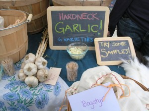 Garlic with your toothpick?